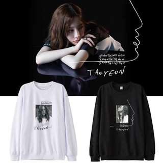 Preorder - Taeyeon Something New Sweatshirt *S-3XL* exc.pos