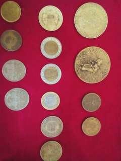 Koleksi duit syiling lama luar dan dalam negara