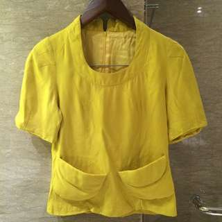 Japanese Yellow mustard blouse