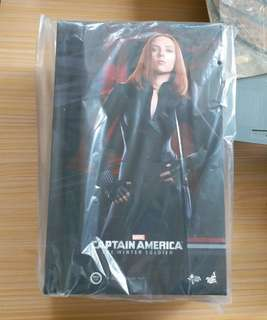 HOTTOYS 1/6 12吋FIGURE Black Widow for Captain America