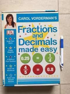 DK Fractions and Decimals made easy
