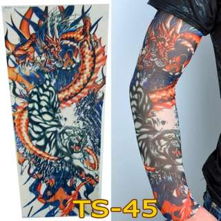 Tattoo Sleeve TS-45 Dragon Tiger Pattern