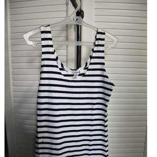FOREVER21 Stripped Sleeveless