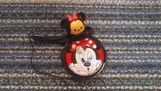 Universal HotShoe and 58mm LensCap in Minnie Mouse