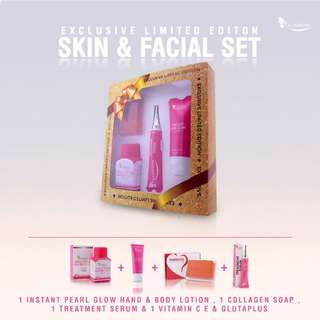 [Authentic] Skin & Facial Limited Edition Set