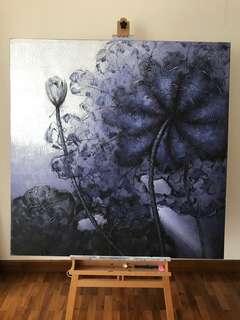 Canvas painting (120cm x 120cm)