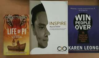 BARGAIN DEAL!! Life of Pi, Inspire - Beyond SG50, Win People Over