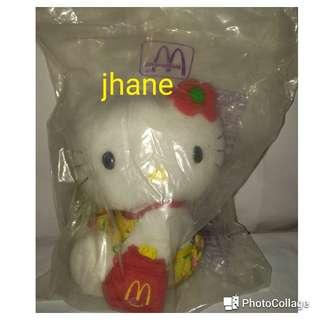 Hello Kitty Mcdo Collectibles