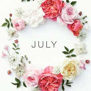 Diskon & potongan harga bulan juli