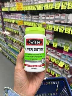 120 Tablets Swisse Ultiboost Liver Detox
