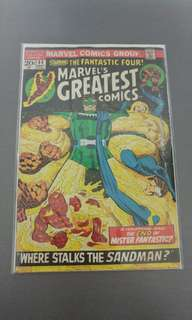 Marvel's Greatest Comics starring Fantastic Four Marvel bronze age comics