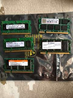 512MB DDR2 SODIMM laptop ram