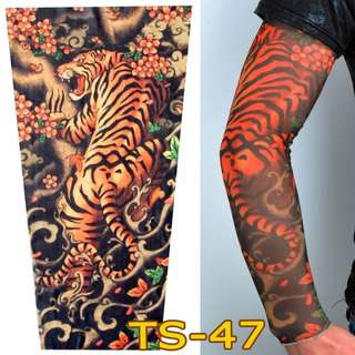 Tattoo Sleeve TS-47 Tiger Design