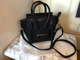 Celine inspired nano belt bag