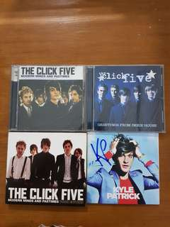 The Click Five albums