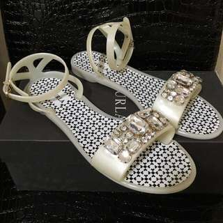 💯New💯Real Furla Candy Shoes Sandals