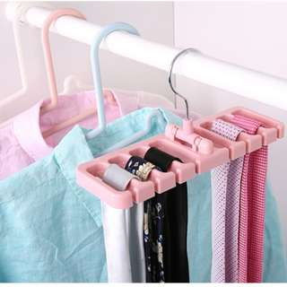 Tie & Belt Storage Rack