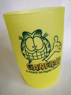加菲貓 絕版膠杯