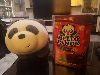 Meiji Hello Panda Chocolate Filled Biscuits 260g