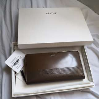 Celine Wallet zip around
