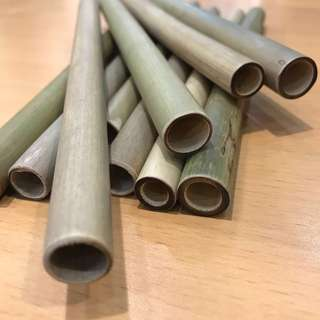 Bamboo eco friendly straws