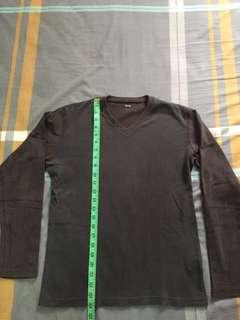 Uniqlo Grey long sleeve