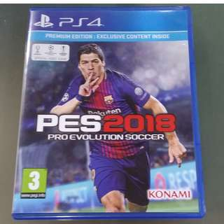Pre-owned PS4 game PES 2018