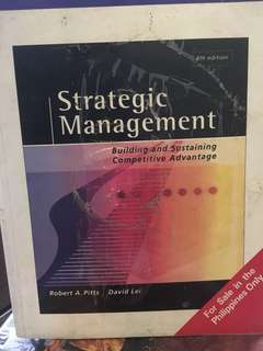 Strategic Management 4th edition Pitts and Lei