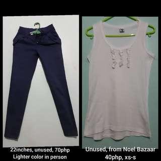 Bundle top and pants