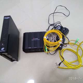 Wireless Router and Optical Network Terminal
