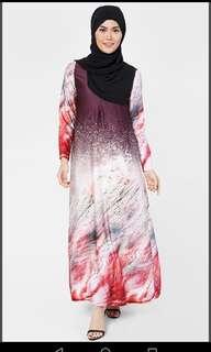 Jubah Calaqisha Size S