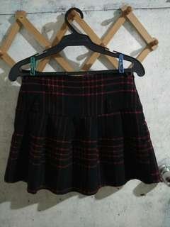 Plaid Skirt Shorts