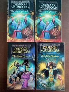 Dragon Warriors RPG Gamebooks