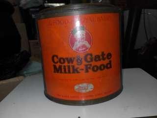 五十年代牛欄牌奶粉罐