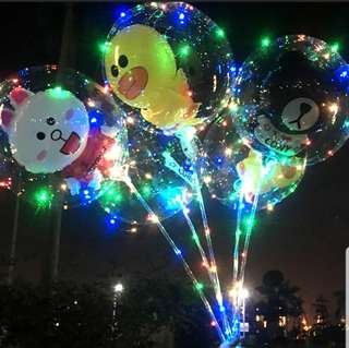 🚚 INSTOCK LED CARTOON BALLOON