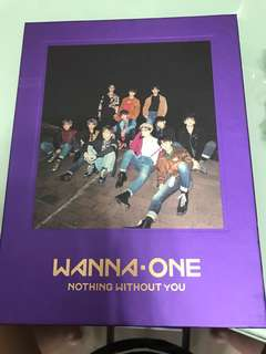 Wanna one Nothing without you 裸專