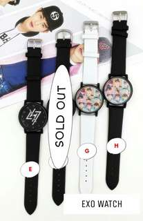 (READYSTOCK) EXO watch