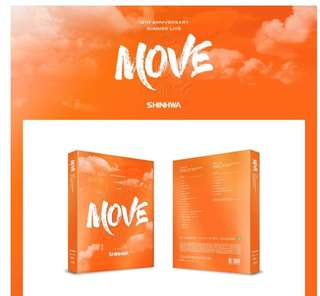 [Preorder] SHINHWA 19TH ANNIVERSARY SUMMER LIVE [MOVE] BLU-RAY(2DISC)
