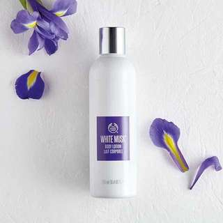 Body Lotion White Musk The Body Shop