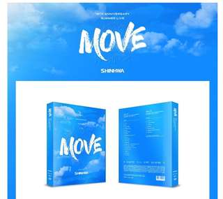 [Preorder] SHINHWA 19TH ANNIVERSARY SUMMER LIVE [MOVE] DVD(2DISC) + SPECIAL PHOTOBOOK