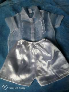 Christening suit