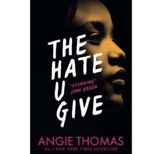 ✨ The Hate U Give - Angie Thomas ✨