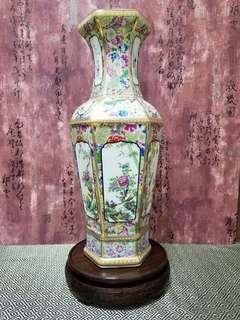 大清古董花瓶 [珐琅彩]