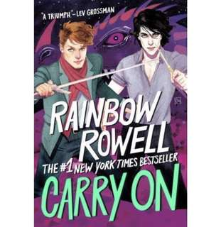 ✨ Carry On - Rainbow Rowell ✨
