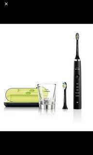 Philip Sonicare Diamondclean toothbrush in black