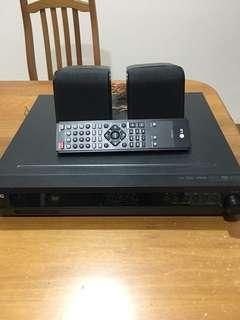 LG mini home theatre system