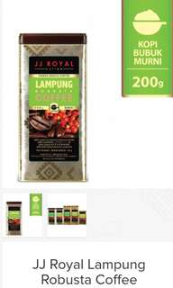 JJ Royal Lampung Robusta Coffee