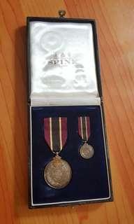 皇家香港輔助警察隊150週年紀念章