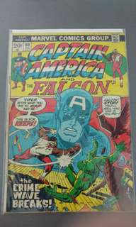 Captain America #158 marvel early bronze age