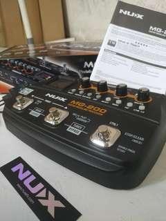 Efek Gitar Nux Mg 200